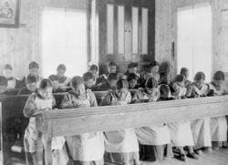 studying in a residential school