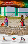 poster: My community is healthy when we all help out