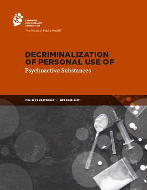 Cover: Decriminalization of Personal Use of Psychoactive Substances