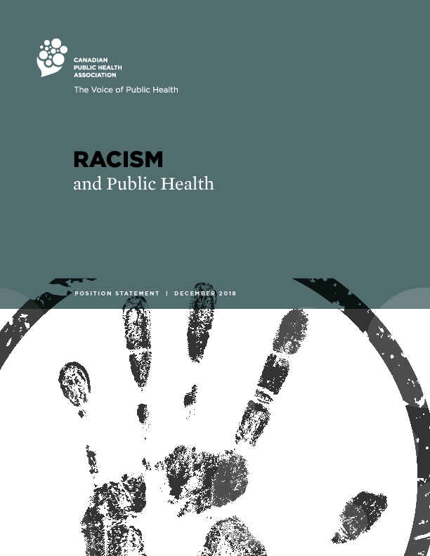 Cover Art for Racism and Public Health